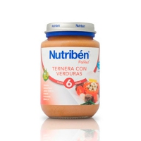 NUTRIBEN TERNERA CON VERDURA POTITO JUNIOR 200 G