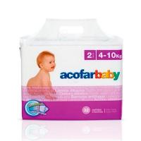 PAÑAL ACOFARBABY INFANTIL SUPER SECO T- MED 32 U