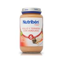NUTRIBEN POLLO TERNERA VERDURA POTITO GRANDOTE 250 G